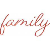 Better Together Family Word Art