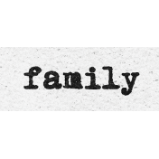 Better Together Family Word Art Snippet