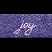 Better Together Joy Word Art Snippet