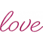 Better Together Love Word Art