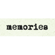 Better Together Memories Word Art Snippet