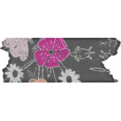 Better Together Floral Washi Tape