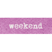 Better Together Weekend Word Art
