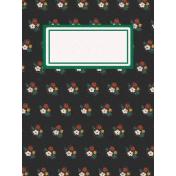 Chicken Keeper Flowers 3x4 Journal Card