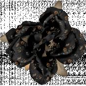 Lets Fika Element Flower Black