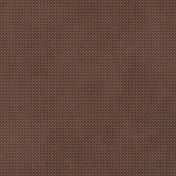 Let's Fika Brown Polka Dot Paper
