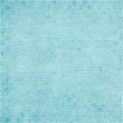Let's Fika Worn Blue Paper