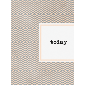 Let's Fika Today 3x4 Journal Card