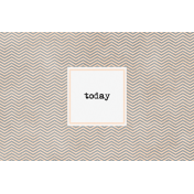 Let's Fika Today 4x6 Journal Card