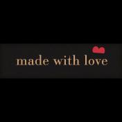 Nana's Kitchen Love Word Art