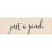 Nana's Kitchen Pinch Word Art