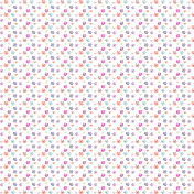 Spring Paper Templates No. 1 Flowers {Color Version}