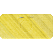 Naturally Curious Label Stapled Yellow