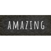 Naturally Curious Amazing Word Art Snippet