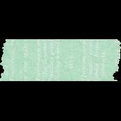 Naturally Curious Washi Tape Green
