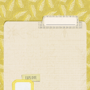 Naturally Curious Folder 4x4 Journal Card