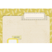 Naturally Curious Folder 4x6 Journal Card
