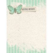 Naturally Curious Natural Wonder 3x4 Journal Card