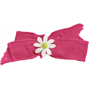 Mulberry Bush Pink Bow