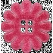 Mulberry Bush Pink Button