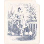 Mulberry Bush Vintage Child & Bunny