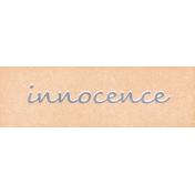 Mulberry Bush Innocence Word Art