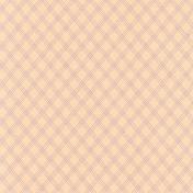 True Friend Cream Plaid Diamond Paper