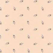 True Friend Cream Floral Paper
