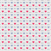 True Friend Love XOXO Paper