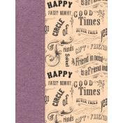 True Friend Words 3x4 Journal Card