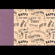 True Friend Words 4x6 Journal Card