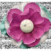Shabby Chic Tulle Flower