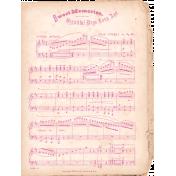 Shabby Chic Music Vintage Ephemera