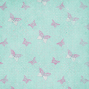 Shabby Chic Paper Butterfly