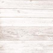 Shabby Chic Paper Wood White