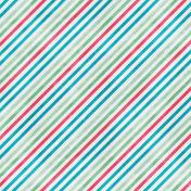 Backyard Summer Striped Paper