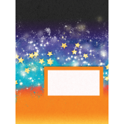 Backyard Summer Sky 3x4 Journal Card