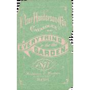 Garden Notes Cover Ephemera
