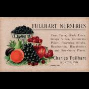 Garden Notes Fruit Ephemera