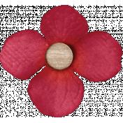 Garden Notes Red Flower