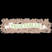 Garden Notes Light Vegetable Banner 2