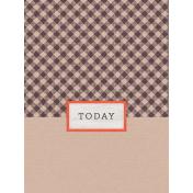 Garden Notes Today Journal Card 3x4