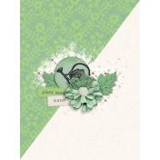 Garden Notes Water Journal Card 3x4