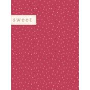Garden Notes Sweet Journal Card 3x4