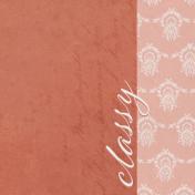 Classy- Classy 4x4 Journal Card