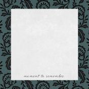 Classy Moment 4x4 Journal Card