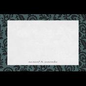 Classy Moment 4x6 Journal Card