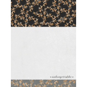 Classy Unforgettable 3x4 Journal Card