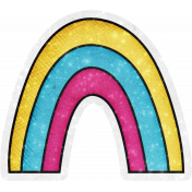 Sparkle & Shine Rainbow Sticker