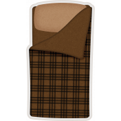 Camp Out: Lakeside Sleeping Bag Sticker